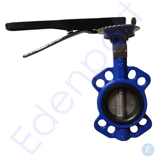 Lever Butterfly Valve : Cast iron wafer butterfly valve lever edenport pty ltd